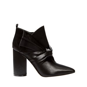 🆕✨SIGERSON MORRISON Bow Satin Booties🆕✨
